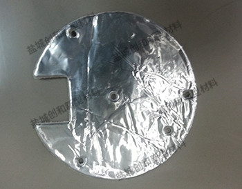 铝箔+玻纤布复合裁切片厂家